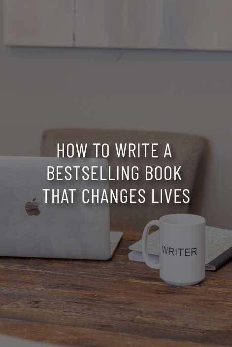 how to write a bestselling book that changes lives with sara connell