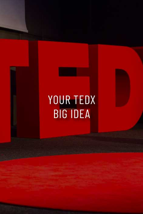 your tedx big idea with sara connell