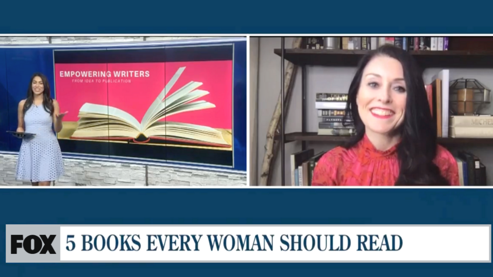 fox 5 books every woman should read with sara connell