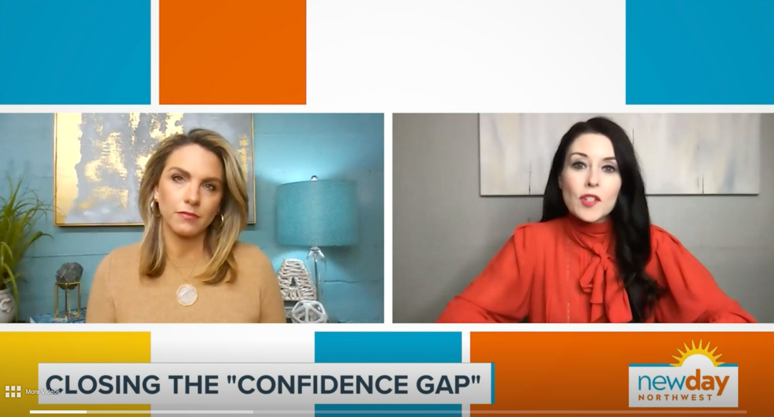 new day closing the confidence gap with sara connell